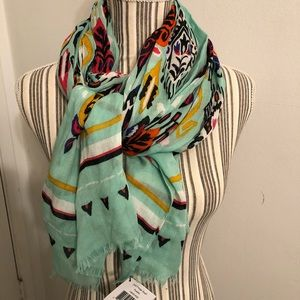NWT Vera Bradley Aztec print fringe scarf Pueblo